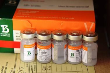 Nova remessa da Coronavac com 57,8 mil doses chega neste sábado