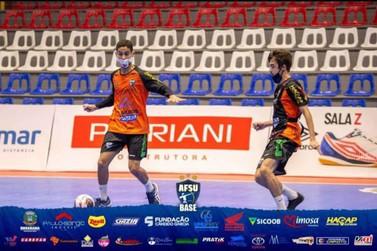 Cruzeirodoestano se destaca na equipe base da Associação de Futsal de Umuarama