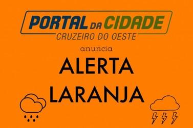 Cruzeiro do Oeste amanhece chuvoso nesta terça-feira (27)