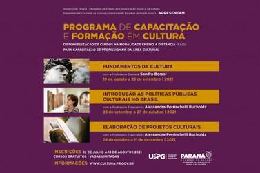 Estado oferece 3 mil vagas para cursos gratuitos de Extensão em Cultura