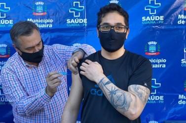 Estratégia de vacinação em Guaíra acelera ritmo da imunização na fronteira