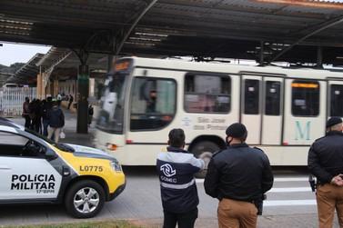 Roubos em ambientes do transporte coletivo caem 48,6% no Paraná