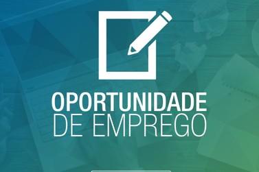 Uma vaga de emprego surge na Agência do trabalhador de Cruzeiro