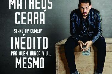 Matheus Ceará se apresenta em Poços de Caldas na sexta-feira
