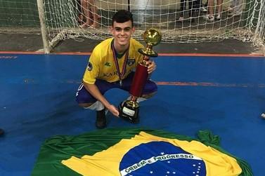 Douradinense é campeão sul-americano com a Seleção Brasileira