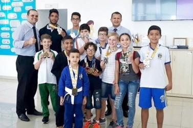 Atletas de Douradina são destaques na Copa Amizade de jiu-jitsu