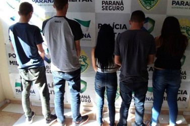 Grupo suspeito de arrombar caixas eletrônicos é preso na região