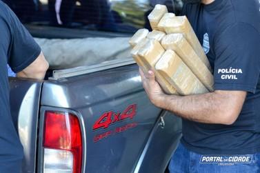 Polícia Civil incinera mais de uma tonelada de drogas em Umuarama