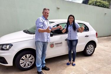 Prefeitura de Douradina entrega mais um veículo para a Secretaria de Saúde