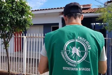 Índice de infestação do mosquito da dengue diminui em Douradina