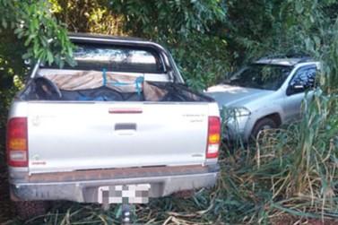 Polícia de Querência do Norte recupera veículos roubados