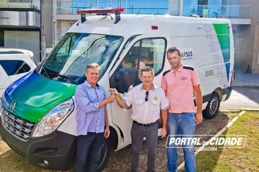 Ambulância nova reforça atendimento à população de Douradina