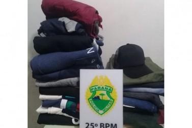 Homem sai da PECO e é preso em menos de 24 horas após realizar furto