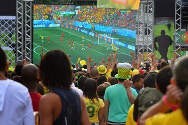 Jogo do Brasil nesta quarta-feira será transmitido em telão em Douradina