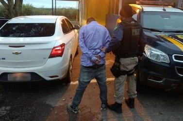 Jovem é preso pela terceira vez neste ano por receptação de carros roubados