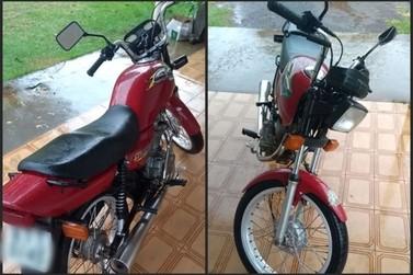 Moto furtada em Douradina é localizada em Icaraíma
