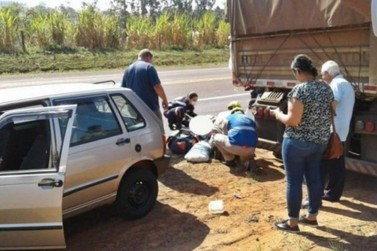 Caminhoneiro morre atropelado na rodovia PR-323