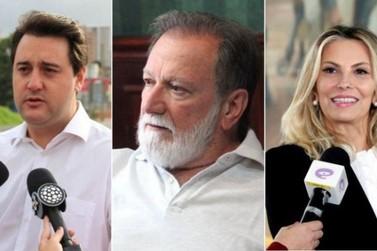 Cida cresce e Ratinho e Osmar empatam nas intenções de votos ao Governo do PR