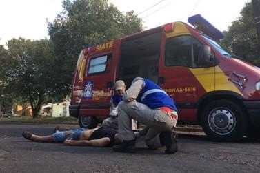 Homem é agredido após ficar pelado na cama do amigo em Umuarama