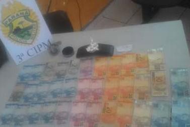 Jovem de 20 anos é preso com cocaína em Porto Rico