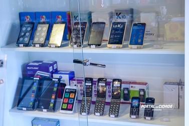 Loja comercializa produtos eletrônicos em até 10x sem juros e sem entrada