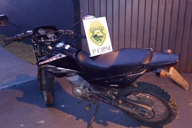Moto furtada é encontrada escondida em Loanda