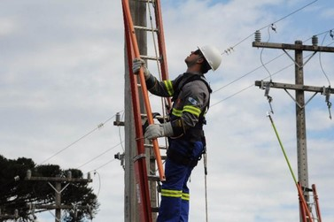 Cerca de 100 unidades consumidoras estão sem energia em Douradina
