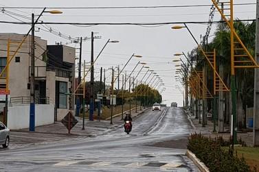 Douradina acumula mais de 140 milímetros de chuva nas últimas 48 horas