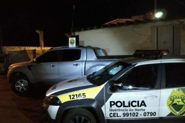 PM recupera veículo roubado após confronto com bandidos