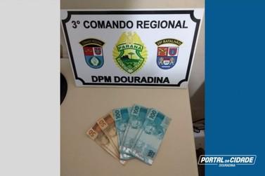 Homem é preso após roubar e agredir deficiente físico em Douradina