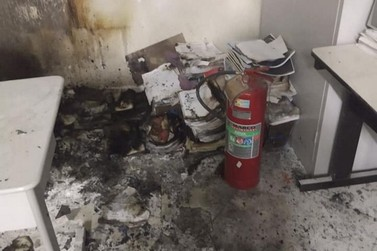 Incêndio destrói documentos da Prefeitura de Cruzeiro do Oeste