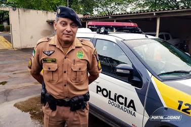 Subcomandante da PM de Douradina é promovido a Sargento