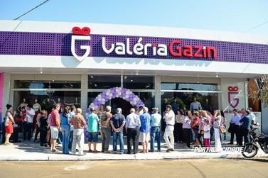 Valéria Gazin reinaugura em Douradina com marcas renomadas e ofertas imbatíveis