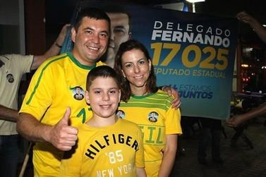 Delegado Fernando é o deputado estadual mais votado em Douradina