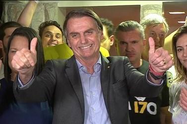Jair Bolsonaro teve 64,41% dos votos válidos em Douradina