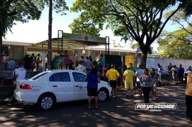 Votação começa tranquila e com poucas filas em Douradina