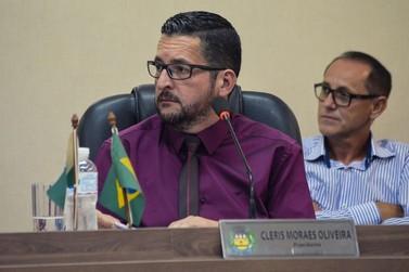Cléris Moraes é reeleito presidente da Câmara Municipal de Douradina