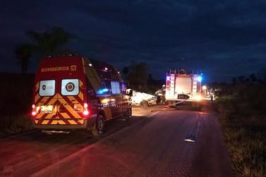 Bebê e homem não resistem ao acidente na PR-468; sobe para 4 o número de mortos
