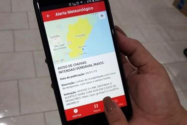 Corpo de Bombeiros do Paraná cria aplicativo para alerta de clima