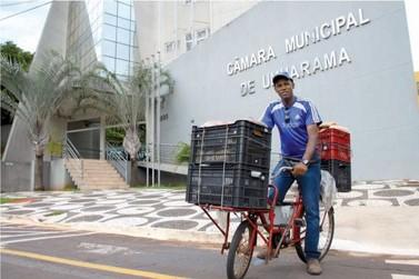 De vendedor de pão a presidente da Câmara de Vereadores de Umuarama