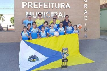 Douradina vence Grêmio e é campeão invicto da Copa Internacional de Futebol