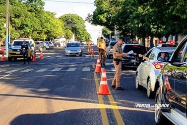 Polícia Militar lança campanha Trânsito Consciente em Douradina
