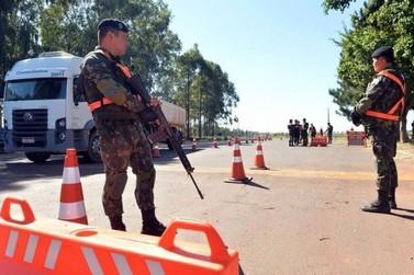 Exército realiza operação na região de Fronteira, em Douradina e Ivaté