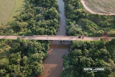 Obras na ponte do rio da Anta em Douradina, devem começar em 30 dias