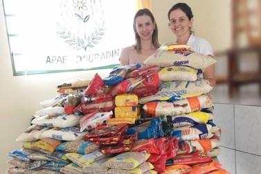 Bazar Solidário da Allure arrecada mais de 300 kg de alimentos para APAE