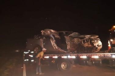 Esposa de vereador de Porto Rico morre em acidente de trânsito na BR-376