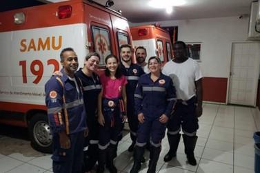 Idoso tem parada cardiorrespiratória revertida por equipe do Samu Noroeste