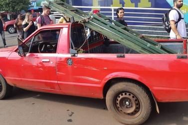 Paraguaio é preso na BR-277 com veículo roubado há 24 anos