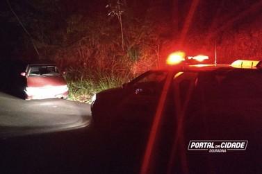 Policiais de Douradina recupera carro furtado, em menos de 30 min após o crime