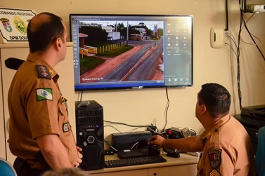 Douradina implanta sistema de videomonitoramento na cidade